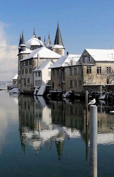 Winter time.. Turmhof in Steckborn, Switzerland | by Fröhlich Agnes