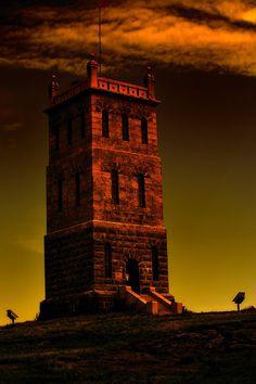 Tower in Tønsberg, southern Norway