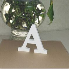 White 3D Letter Sticker   Free Worldwide Shipping!  Only $3.08    Order from: www.happycozyhome.com