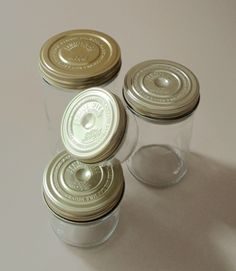 Le Parfait Screw Top Jars, For packaging food and other small gifts? (by way of artnau)
