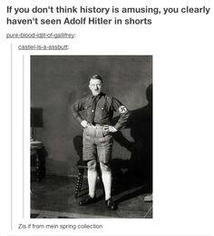 Like, really entertaining. | History According To Tumblr