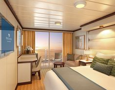 Royal Princess Deluxe Balcony Stateroom