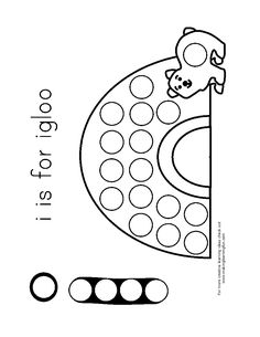 igloo template | Free to download from Making Learning Fun