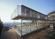 Steel and Glass House by Tato Architects