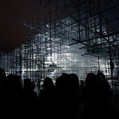 Serpentine Pavilion Intervention by United Visual Artists