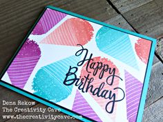Fun video to show this adorable card on my blog: www.thecreativitycave.com…