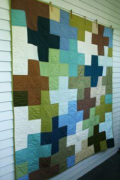 cross my heart :: a quilt.