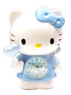 Hello Kitty angel alarm clock