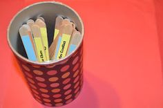 Use comprehension sticks for group discussions.  Click the image for ideas.