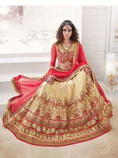 Indian Bridal Lehenga Choli Designs 2016 -RGfashionWorld-4