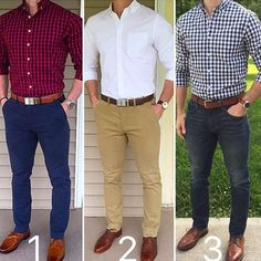 Which outfit is your favorite   1 2 or 3 I wish you an amazing upcoming week Shop Quality Mens Accessories at http://ift.tt/2jorSiD (link in bio) Courtesy of @chrismehan