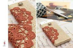 Crochet cover for mobile