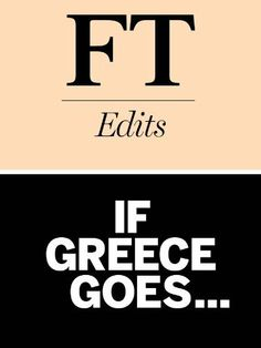 If Greece goes?: The impact of a Greek default on Europe and the world economy by Portfolio Penguin. $3.37. 73 pages. Publisher: Portfolio Penguin (June 1, 2012)