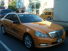 Believe it or not, there are a few Mercedes-Benz taxicabs here in NYC.