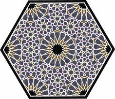 Islamic Star Patterns :::: pinterest.com  christiancross  ::::