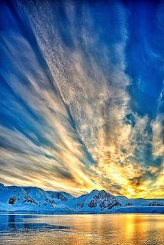 Top 10 most hypnotizing sunset views travel pinterest sunset antarctic sunset by david burstein fandeluxe Gallery