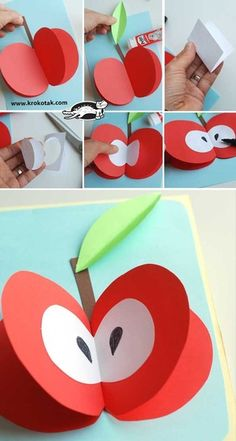 children activities, more than 2000 coloring pages- jessica Smith - Anaokulu Dünyam Paper Crafts For Kids, Projects For Kids, Diy And Crafts, Fall Crafts, Halloween Crafts, Summer Crafts, Paper Fruit, Fruit Fruit, Fruit Seeds
