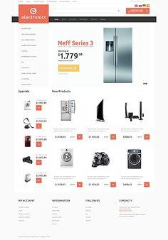 OsCommerce 2.3 Theme #50512