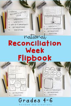 This flipbook for National Reconcilation Day is ideal for students in Year 4, Year 5 and Year 6. Activities focus on reconciliation in Australia at an age appropriate level. Use on National Sorry Day or throughout National Reconciliation Week. Click the link for more details {Grade 5, Grade 6, Stage 3, homeschool} #rainbowskycreations