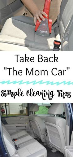 From Mom Car to MY Car!, cleaning cars, tips for cleaning a car, cleaning the in...  #carcleaninginterior