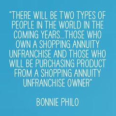 #ShoppingAnnuity #MAIC2015