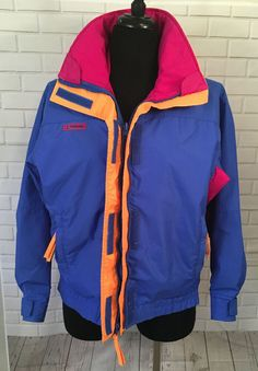 Moncler Blue tricot wool sleeve puffer jacket padded