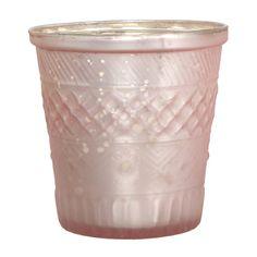 Teelichthalter von Affari in der Farbe rosa.