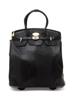 Adrienne Vittadini Rolling Laptop Tote Bagoffice