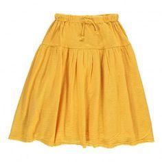 Roxy Long Skirt Mustard  Nico Nico