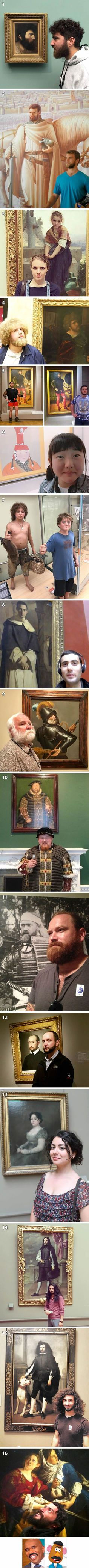 16 People Who Find Their Ancient Statue Twin In Museum
