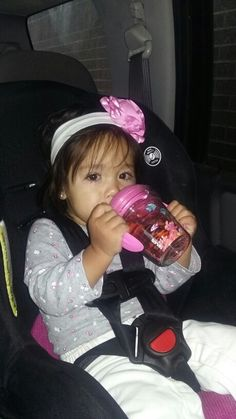 My baby girl with her new Tervis sippy cup #tervisadventures