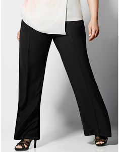 6th & Lane wide leg soft pant by Lane Bryant | Lane Bryant