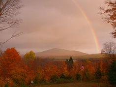 Mt. Chase on  October 14, 2007. Photo Courtesy of Chris Beyer