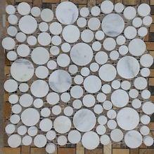 mosaico de mármol blanco para <strong> </ strong baño> azulejos de…