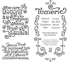 Meditate -- lettering style and ornament #love #fonts #typography