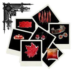 Lovely Reds by keepsakedesignbycmm on Polyvore featuring art