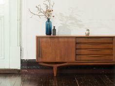 北欧デザイン家具 Klokken クロッケン サイドボード 01 (テレビボード) Furniture, Wood, Room, Interior, Cabinet, Tv Stand, Home Decor, Credenza, Storage