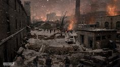 World War Z - unused ending concept art - Seth Engstrom
