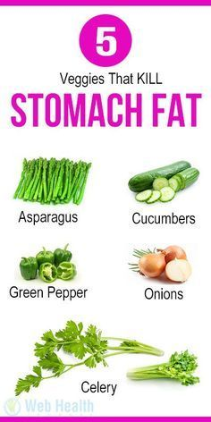 5 Veggies That KILL Stomach Fat : #nutrition