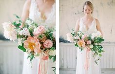 Romantic Blush and Blue Wedding Inspiration by Charla Storey Photography   Wedding Sparrow
