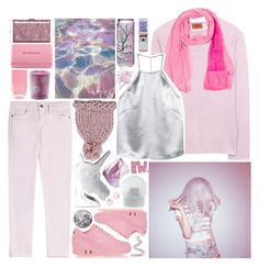 """Pastel Princess"" by metalheavy ❤ liked on Polyvore featuring Missoni, Current/Elliott, NIKE, Nails Inc., Dr.Ci:Labo, Prada, Edie Parker, Maison Margiela, H&M and Wedgwood"