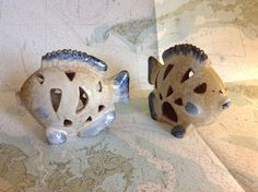 Ceramic Fish Tealight Holders