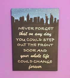 How I Met Your Mother Inspired Canvas by CrazyAboutCanvases