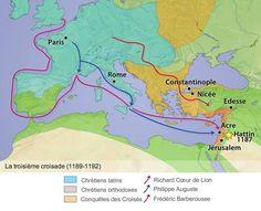 La Troisième Croisade - Source: Jeux-Historiques.com