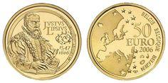 Belgium, 50 ¤ 2006, Lipsius, 0. 2 oz fine, PP    Dealer  Auction house Ulrich Felzmann    Auction  Minimum Bid:  220.00EUR