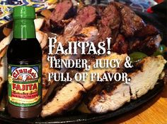 Low sodium Fajitas!  Same great, spicy flavor!!!