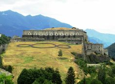 Forte di Exilles vicino a Torino