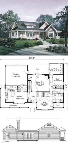 Craftsman House Plans 87811