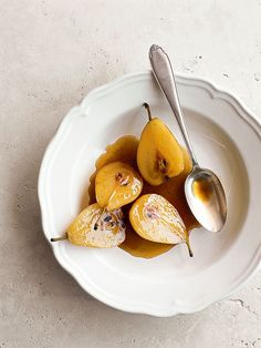 Maple Roasted Pears.