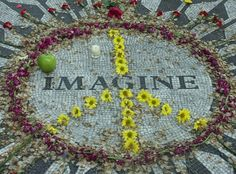 NYC Central Park ~ John Lennon memorial ~ (been there)